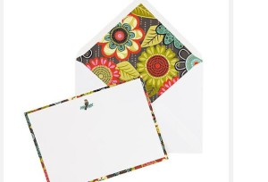 Vera Bradley note cards