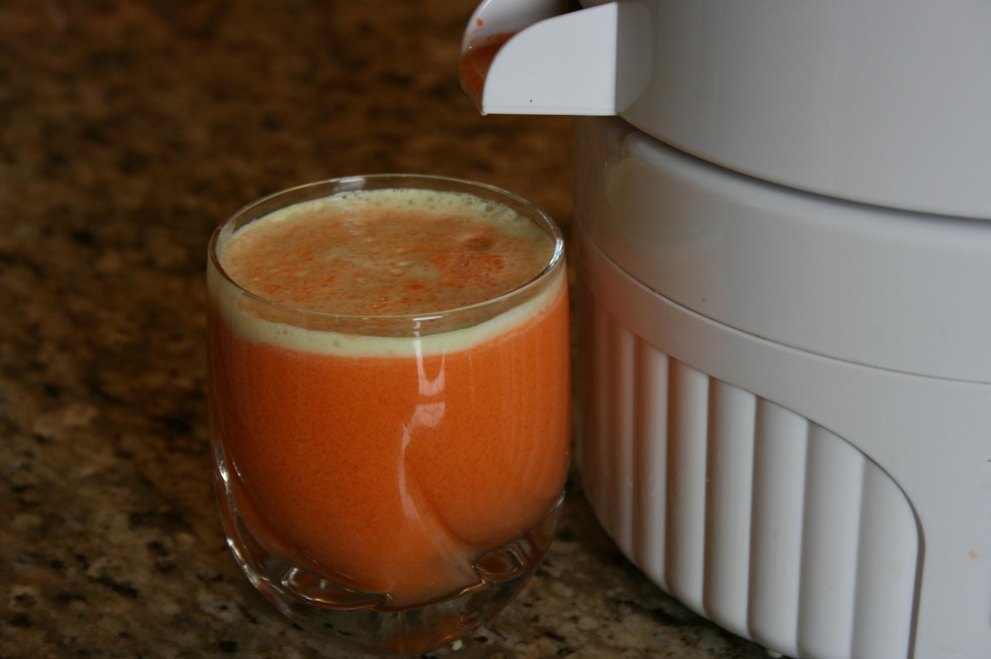 Carrot cake recipe apple juice