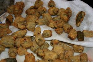 golden fried okra