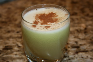 cabbage-apple-cinnamon juice