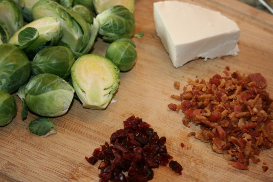 Savory Brussels ingredients