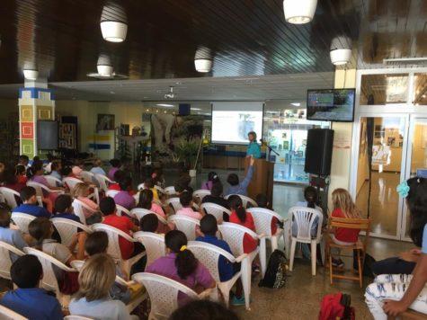 Aruba school visit 2